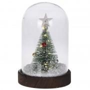 Bellatio Decorations Kerstversiering kerstboom in stolp 17 cm