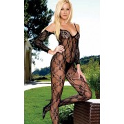 Bodystocking with sleeves