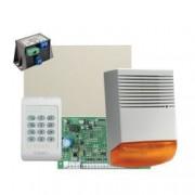 Kit alarma la efractie DSC cu sirena exterioara - KIT1404BS