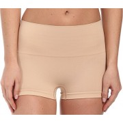 SPANX Women's Everyday Shaping Panties Seamless Boyshort, Soft Nude Medium