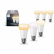 Philips Hue White Ambiance E27, 6-pack