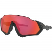 Oakley Flight Jacket Sunglasses - Matte Black/Prizm Trail Torch