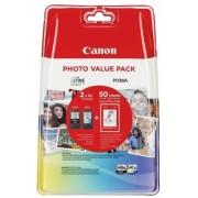 Value Pack Pg-540Xl/Cl-541Xl (Hartie Foto Gp-501 50 Coli) Original Canon Mg2150