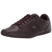 Lacoste Chaymon Zapatillas para Hombre, marrón Oscuro (Dark Brown/Dark Brown), 8.5 US