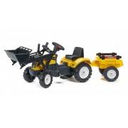 Traktor na pedale Ranch žuti (2055cm)