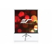 Ecran de proiectie trepied EliteScreens T113NWS1, 200x200cm+ Cadou geanta transport , Alb