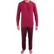 Calvin Pánské pyžamo Calvin Klein červené (NM1607E-QBN) L