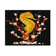 Sea Horse Style 2 Jigsaw Puzzle Print 252 Pieces
