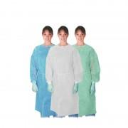 Blanco 100 batas desechables cirujano 20g c/elásticos