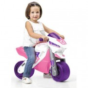 Famosa Feber - Moto 2 con Casco - Rosa