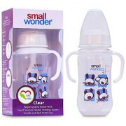 Small Wonder BPA Free Clear Baby Feeding Bottle 125 ml