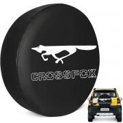 Capa De Estepe Crossofox 2005 a 2019 Estampa Raposa PVC