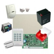 Kit alarma la efractie DSC cu sirena interioara - KIT1616INT