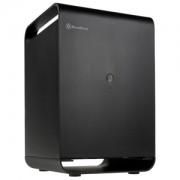 Carcasa Silverstone CS01-HS Mini-ITX Storage Black, SST-CS01B-HS