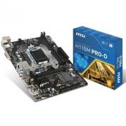 PLACA i3/i5/i7 MSI H110M PRO-D (S.1151) DDR4