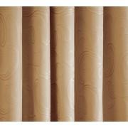 Fehér organza maradék drapp nyírt mintával 140x280cm/017/Cikksz:1240516