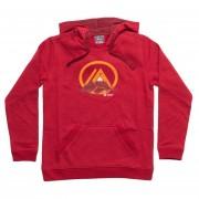 Polar Niño Insigne Cotton Hoody Rojo Oscuro Lippi