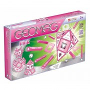 Set Constructie Magnetic Pink Panels 104 Geomag