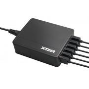 XTAR U1 Six-U hatcsatornás USB adapter