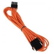 Cablu prelungitor BitFenix Alchemy 8-pini EPS12V, 45cm, orange/black, BFA-MSC-8EPS45OK-RP