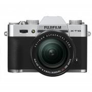 Fujifilm X-T10 Silver Mirrorless Digital Camera Kit With XF 18-55mm F2.8-4.0 R LM OIS Lens