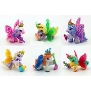 6Pcs/lot 6CM Simba Filly Little Horse Dolls Witchy Unicorn Stars Butterfly etc. Many Styles Mini Horses Doll Kid Christmas Gift