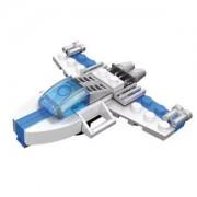 ELECTROPRIME Lighting Shuttle Blocks Space Exploration Building Blocks Toys