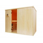 Oceanic Cabina Tradizionale per Sauna Finlandese OS2040 (4/5 posti) 2480 x 1350 x 1950mm