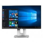 "HP EliteDisplay E230t monitor pantalla táctil 58,4 cm (23"""") 1920 x 1080 Pixeles Negro, Plata Multi-touch Mesa"