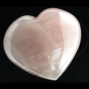 Cristal Natural Unicat Cuart Roz Inima 96 x 76 mm ( XL )
