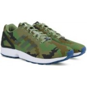 ADIDAS ORIGINALS ZX FLUX Sneakers For Men(Black, Green, White)