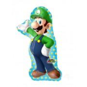 Balão de alumínio Luigi Super Mario Bros™ 50 x 96 cm