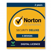 Norton Security Deluxe 5 Devices | 2 Years - Digital Licence - 5 / 2