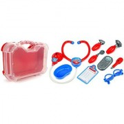 Velocity Toys My 1st Doctor Case Children's Kid's Pretend Play Toy Doctor Nurse Set w/ Tools Accessories