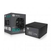 COOLER MASTE MASTERWATT LITE 600W / 230V / 80PLUS WHITE / 120MM
