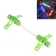 Bicycle Glo-sticks Light Strip Lamp Safety Warning LED Light Side Light with Lighting / Fast Flashing / Slow Flashing Modes(Green)