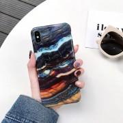Apple Volledige dekking glanzend marmer textuur schokbestendig TPU Case voor iPhone XS Max