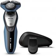 Aparat de barbierit umed si uscat AquaTouch S5620/12, 50 min, albastru/gri