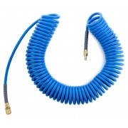 Wąż spiralny 12x8mm poliuretanowy 15m RQS - 15m