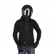 Booster Motorcycle Products Veste à Capuche Aramide Booster Core Noir L