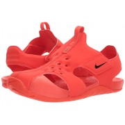 Nike Sunray Protect 2 (Little Kid) Habanero RedBlackHabaner Red