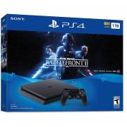 PlayStation 4 Slim 1TB - Star Wars Battlefront II Bundle