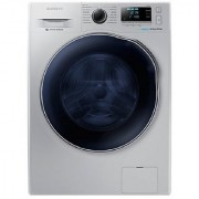 Samsung WD80J6410AS/TL Fully-automatic Front-loading Washing Machine (6 Kg Silver)
