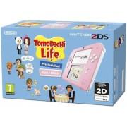 Consola Nintendo 2DS Tomadachi Life (Roz/Alb)
