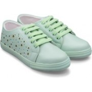 Trendy Look Lazer Sneakers For Women(Green)