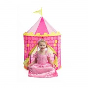 Xenos Pop-up speelgoedtent - prinsessen kasteel - ⌀80x110 cm