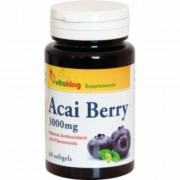 Vitaking Acai Berry gélkapszula, 60 db