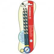 STABILO International GmbH STABILO® Easygraph Bleistift, Linkshänder, Ergonomischer Dreikant-Bleistift speziell für Linkshänder, 1 Packung = 2 Stück, HB, petrol