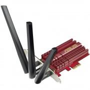 WLAN Plug-in kartica PCIe 1300 MBit/s Asus PCE-AC68 92IG000R0-BM0G00
