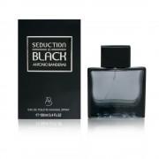 Antonio banderas seduction in black 100 ml eau de toilette edt spray profumo uomo